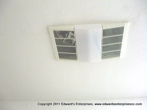 Residential Exhaust Fan project Edward's Enterprises Exhaust Fan Service completed: Edward's Enterprises Exhaust Fan.