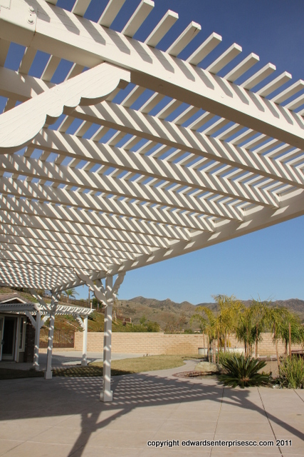 Residential Lattice projects by Edward's Enterprises Lattice Service: Edward's Enterprises Lattice.