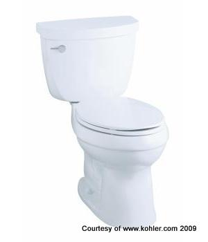 New Toilets are often installed in our Apartment Building Owner's properties: Edward's Enterprises Apartment Maintenance.