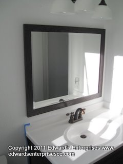Residential Mirror, Glass, and Screen projects by Edward's Enterprises Mirror, Glass, and Screen Service.