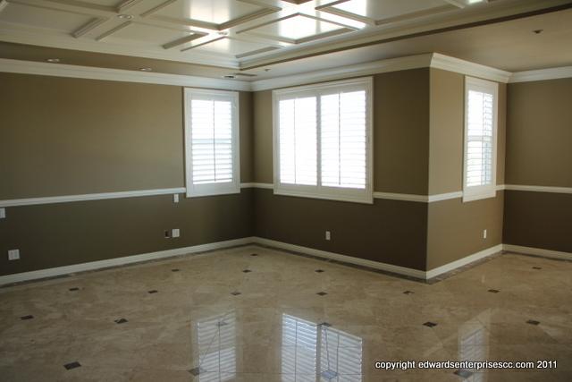 moulding tile flooring chair rail bedroom residential remodel 1 jpg