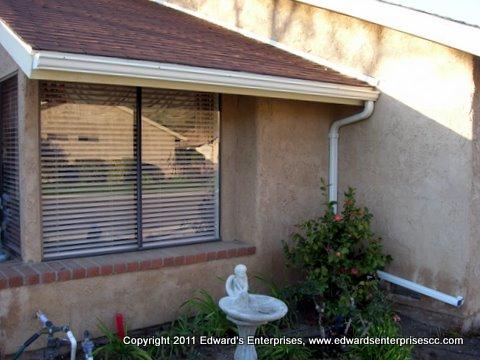 Residential Rain Gutters Project In West Los Angeles