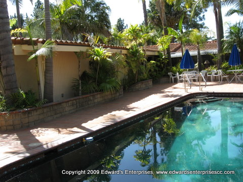 Edward's Enterprises  Condo Remodeling: Apartment maintenance pool remodeling project.