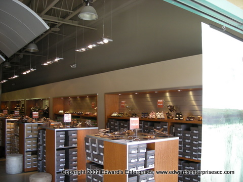 Retail Maintenance service completed involving plumbing, electrical, painting, drywall, framing, & more