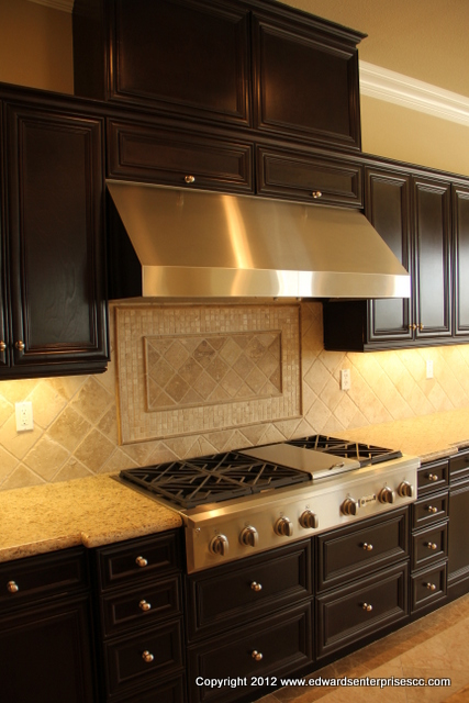 Stainless steel hood installed in Van Nuys, CA: Edward's Enterprises Kitchen Hood.