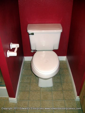 Edward's Enterprises Toilet Service: Toilet repairs and installations