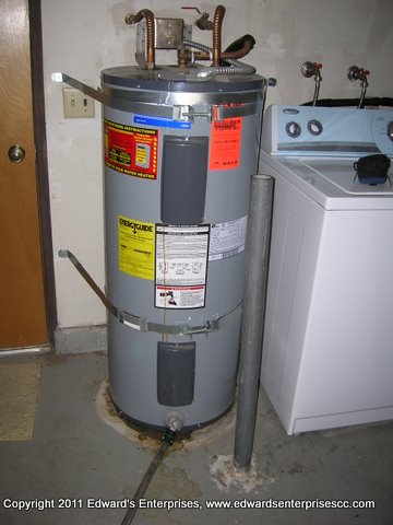 photos of electric water heaters installation - Electric Water Heater Installation