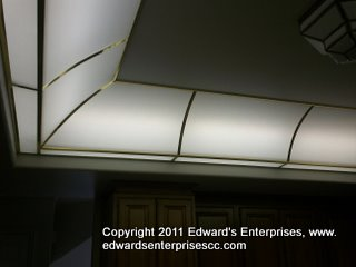 Even more acrylic lighting. We can install larger sheets; call us for more details: Edward's Enterprises Acrylic and Plexi Panel Installation & Cleaning in Canoga Park, CA