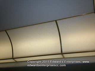 We can install larger sheets; call us for more details: Edward's Enterprises Acrylic & Plexi Panel Installation & Cleaning