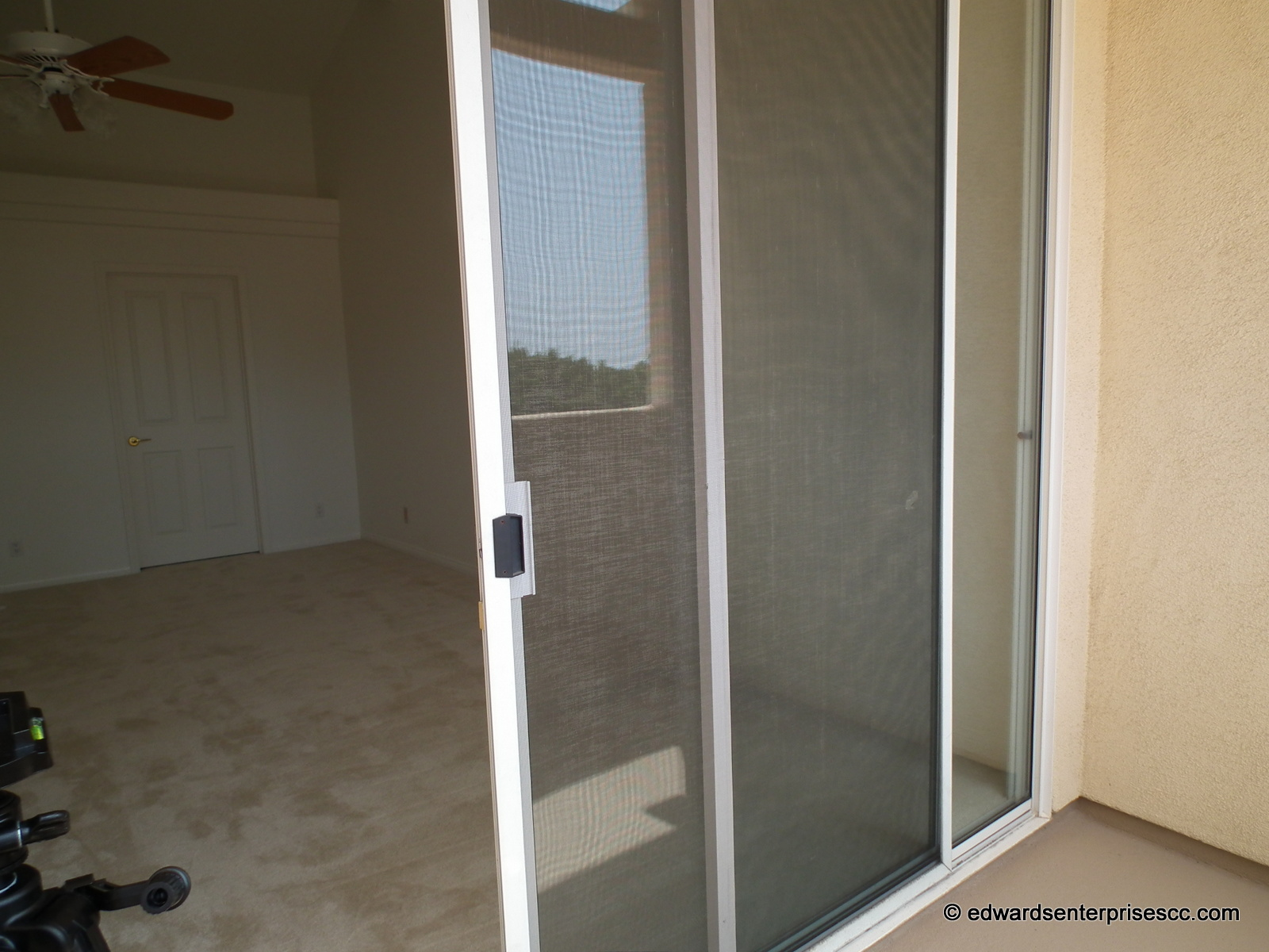 Sliding Glass Door Screen Repairs Installs In Ventura