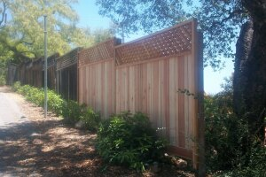 Carpentry Fence Extension Install - Carpentry