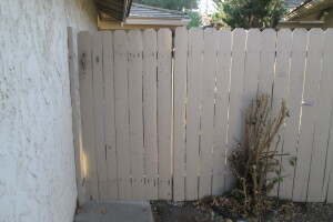 Carpentry Fence Gate Repair - Carpentry