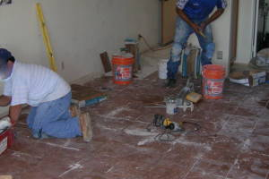 Carpentry Tile Home Install