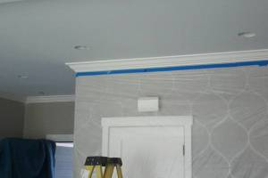 Carpentry Moulding Installation Paint - Carpentry