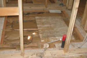 Wooden Sub Floor Repairs, Subfloor Removals & Installs