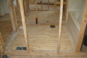 Carpentry Sublfloor Home Repair - Carpentry