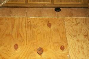 Carpentry Sublfloor Kitchen Repair - Carpentry