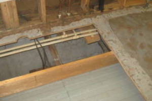 Carpentry Sublfloor Repair Insulation - Carpentry