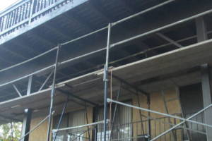 Carpentry Deck Beam Repair - Carpentry