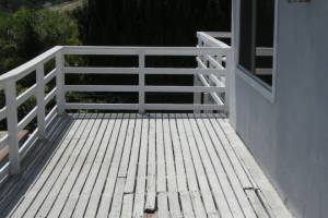 Carpentry Deck Patio Remodel - Carpentry