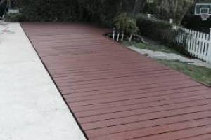 Carpentry Deck Pool Refinish