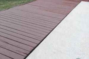 Carpentry Deck Pool Refinish - Carpentry