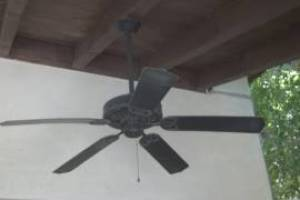 Electrical Ceiling Fan Patio Repairs - Electrical