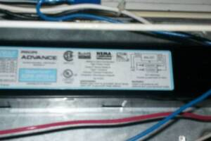 Electrical Lighting Retail Ballast Replace - Electrical