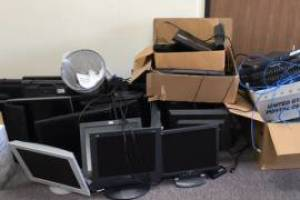 Hauling Business Office Cleanout
