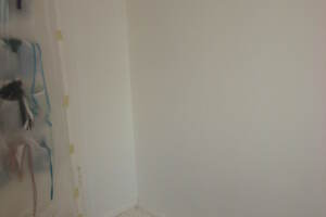 Painting Drywall Bedroom Wall Patch - Painting
