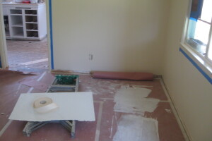 Painting Drywall Fire Damage Repairs - Painting