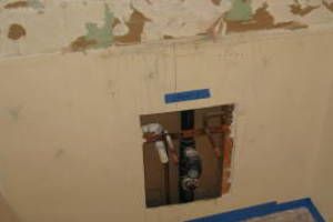 Painting Drywall Repair Patch Bathroom