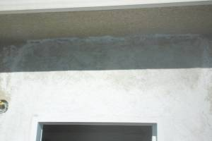 Painting Stucco Door Exterior Patching - Painting