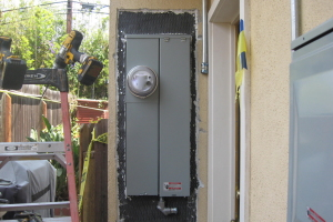 Painting Stucco Electrical Panel Inspection - Painting