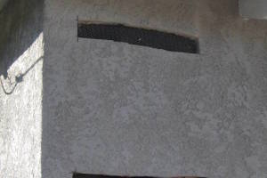 Painting Stucco Electrical Panel Patch - Painting