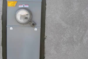 Painting Stucco Electrical Panel Patch