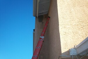Painting Stucco Hole Patch Texture - Painting