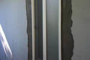 Painting Stucco Window Replace Patch - Painting