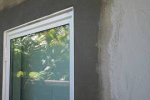 Painting Stucco Window Replace Patch