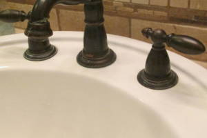 Plumbing Faucet Handle Repair