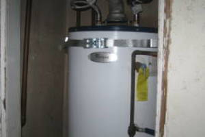 Plumbing Water Heater Residential Replaced - Plumbing