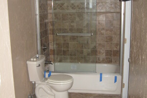Remodel Bathroom Tub Shower Bath Tile - Remodeling