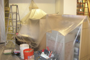Remodel Commercial Retail Paint Renovation - Remodeling