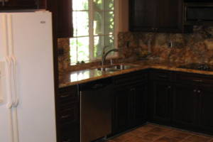 Remodel Kitchen Tile Flooring Cabinets