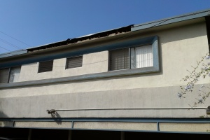Repair Apartment Fascia Damage Touchup