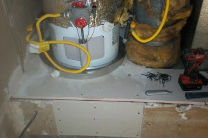 Repair Handyman Water Heater Base - Repair