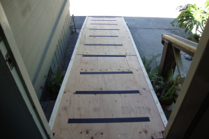 Repair Reo Property Temp Wheelchair Ramp - Repair