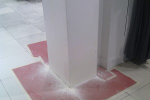 Repair Retail Drywall Repairs Paint - Repair