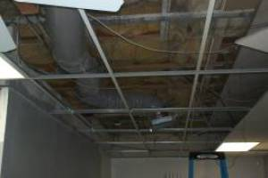 Repair Drop Ceiling Tiles Lighting Installed