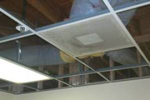 Repair Drop Ceiling Whole Office Replaced - Repair